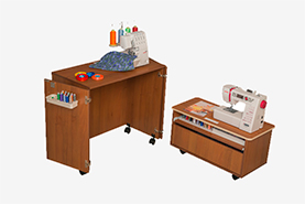 20% OFF Comfort Sewing Tables col.WHITE